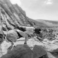 Roland Steinmassl - Side Crow - NoYoga Elixhausen - Fuerteventura